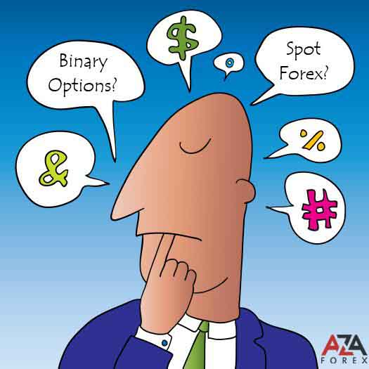 What is better to trade on the stock exchange, Forex or binary option by AzaForex